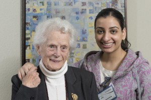 Harmony Court Resident and Staff Member
